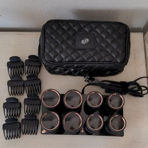 T3 hot rollers brand new, used once.